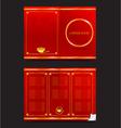 Chinese food restaurant oriental menu 002 vector image vector image