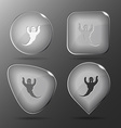 Ghost Glass buttons