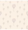seamless heart air balloon pattern vector image vector image