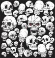 Skull tattoo wallpaper vector | Price: 1 Credit (USD $1)