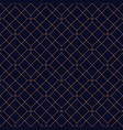 trendy seamless blue ornamental geometric vector image vector image
