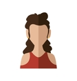 Woman icon Avatar design graphic vector image vector image