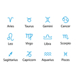 signs of zodiac vector image