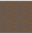 Brown rust texture on metal seamless pattern vector image