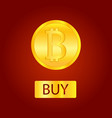 bitcoins money virtual currency concept background vector image