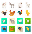 breeding and kitchen icon vector image vector image