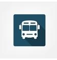 Bus stop icon vector image vector image