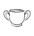coffee cup beverage fresh morning vector image