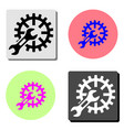 service tool flat icon vector image