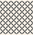 simple monochrome geometric ornament vector image vector image