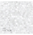 modern white abstract background with triangles vector image