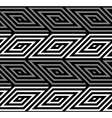 3D Rhombus Spirals Geometric Optical Black and vector image vector image