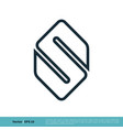 abstract s letter icon logo template design eps 10 vector image vector image