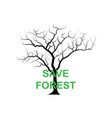 arid tree drought world forest day poster print