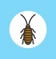 cockroach icon sign symbol vector image vector image