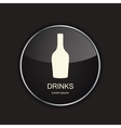 Food and drink metal application icons vector image vector image