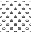 monarchy crown pattern vector image vector image