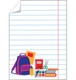 school and education vector image vector image