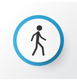 walking icon symbol premium quality isolated vector image vector image
