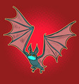 bat is a virus vector image vector image