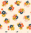 bright summer seamless pattern with colorful vector image vector image