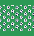 merry christmas football seamless horizontal vector image vector image