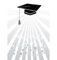 Mortar in graduation in grey vector | Price: 1 Credit (USD $1)