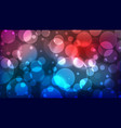 abstract bokeh background multicolor defocused vector image vector image