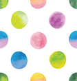 background with watercolor spots vector image vector image