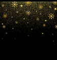 christmas background with glitter and shining vector image vector image
