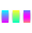 colorful spectrum backgrounds templates vector image