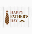 happy fathers day banner vector image vector image