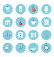 plumbing and heating home equipment vector image vector image