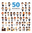 Business People Big Collection vector image