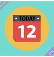 Calendar Icon - Flat design vector image vector image