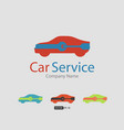 car service icon auto repair flat maintenance vector image