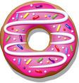 doughnut vector image vector image