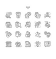 epilator well-crafted thin line icons