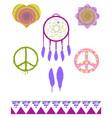 Free Spirit Elements vector image