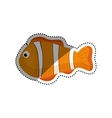 Sea fish animal vector image vector image