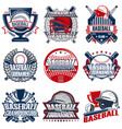 Set 9 baseball badge