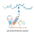 environmental water vector image vector image