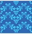 floral filigree pattern vector image vector image