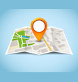 map gps pin icon road travel home city vector image