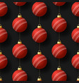 merry christmas cricket seamless pattern hang vector image