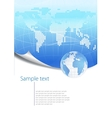 modern business background vector image vector image