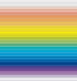 rainbow panel vector image vector image