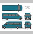 renault master passenger van l4h2 2014-2019 vector image vector image