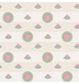 watermelon seamless pattern background vector image vector image