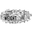 why do you say you want to lose weight text word vector image vector image